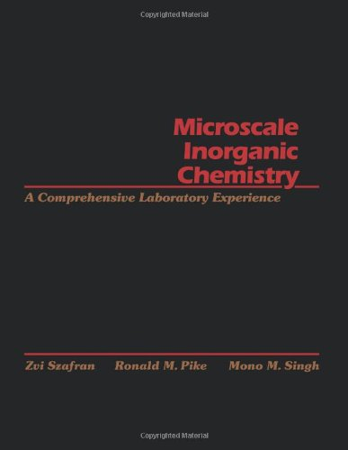 Microscale Inorganic Chemistry: A Comprehensive Laboratory Experience