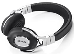 DENONデノン ヘッドホン 3ボタンリモコン/マイク付き ハイレゾ音源対応 ブラック AH-MM300EM