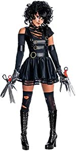 Miss Edward Scissorhands Horror Sexy Adult Women's Costume Select Shirt Size: Medium