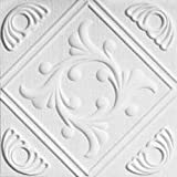R 02 Styrofoam Direct Glue Up Ceiling Tile (20x20)