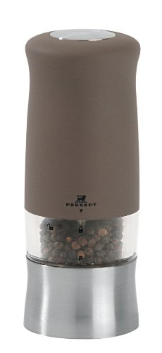Peugeot Pm21269 Zephir Electric Soft Touch 5.5 Inch Pepper Mill, Basalte