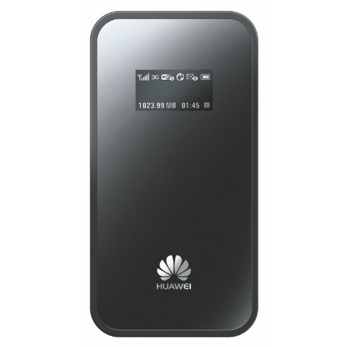 Huawei E586Es Black High Speed 3G MiFi 21.1Mbps HSPA+ Mobile Broadband Unlocked