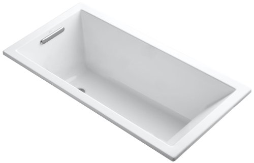 Cheapest Prices! Kohler K-1121-0 Underscore Drop-In Undermount Bathtub, White