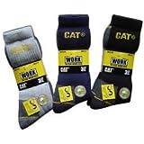 Lot de 6 paires Caterpillar Crew MIX-CAT-122A travail Chaussettes  Pack de 6 paire  
