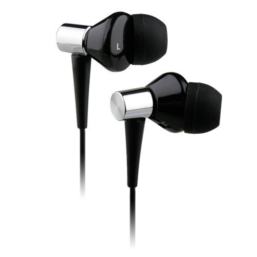 Noisehush Nx50 3.5Mm Stereo Headset W/ Enhanced Bass - Iphone, Blackberry, Htc, Lg, Motorola, Nokia, Palm, And Samsung - Black