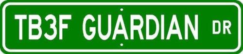 TB-3F TB3F GUARDIAN Street Sign - High Quality Aluminum - Buy TB-3F TB3F GUARDIAN Street Sign - High Quality Aluminum - Purchase TB-3F TB3F GUARDIAN Street Sign - High Quality Aluminum (The Lizton Sign Shop, Home & Garden,Categories,Patio Lawn & Garden,Outdoor Decor)