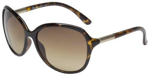 Burgmeister Damen SBM111-342 Nizza Groß Sonnenbrille, Brown - Braun (Nizza)