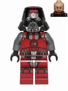 Lego Star Wars Red Sith Trooper Minifigure