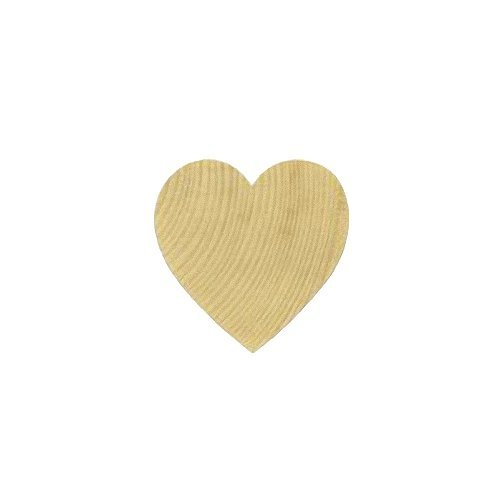 MyCraftSupplies Set of 50 Wood Heart Cut Outs ONE INCH Natural Wood Heart for Crafting, Staining, Painting (1 Inch Wood Hearts compare prices)