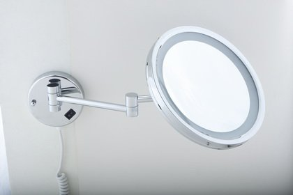 DXP-Küche & Haushalt DXP Kosmetikspiegel Schminkspiegel LED 7-fach ROHS YBL1700