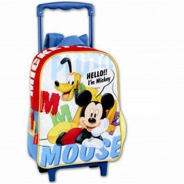 Disney Mickey Mouse Small Wheeled Backpack