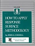 img - for How to Apply Response Surface Methodology (Vol 8) book / textbook / text book