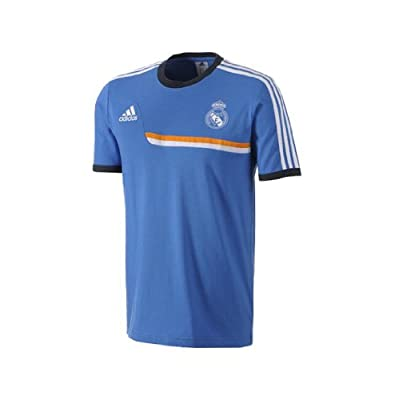 Adidas Real Madrid Training T-Shirt - Blue (M)