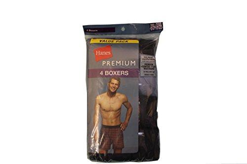 hanes-mens-4-pack-classic-comfort-flex-waistband-woven-boxers-underwear2xl