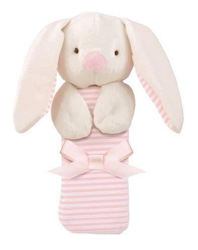 Grasslands Road Cozie Baby Blanket ~ Bunny - 1