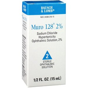 Amazon.com: MURO 128 2% SOLUTION 15ML by BAUDR SCHOLLS & LOMB PHARM