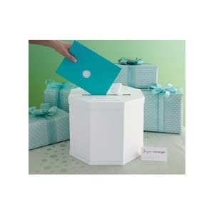 Click to buy Wedding Reception Decoration Ideas: Martha Stewart Gift Card Box from Amazon!