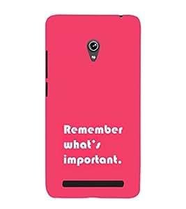 EPICCASE important Mobile Back Case Cover For Asus Zenfone 5 (Designer Case)