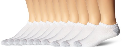hanes-mens-10-pack-ultimate-no-show-socks-white-10-13-shoe-size-6-12