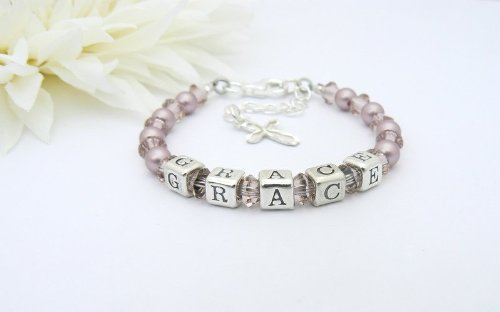 Classic Pearl Vintage Christening Bracelet - 1st Holy Communion