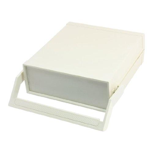 "Light Gray Plastic Electric Diy Junction Box Case 9.1"" X 8.3"" X 3.1"""