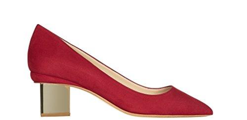 где купить NICHOLAS KIRKWOOD Prism Pump Crimson Red по лучшей цене