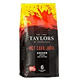 Taylors of Harrogate Hot Lava Java Lifestyle Ground Coffee (6 x 227g)