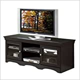 31hlIYIR5lL. SL160  Techcraft ABS60 60 Inch Wide Credenza (Antique Black)