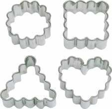 Wilton Crinkle Shapes Paper Candy/Lollipop Sticks and Cut-Outs