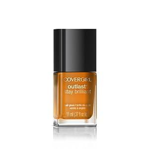 COVERGIRL Outlast Stay Brilliant Nail Gloss Goldilocks 243 0.37 Fl Oz, 0.370-Fluid Ounce