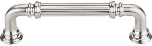 Reeded Pull 3 343939 c-c - Brushed Satin Nickel