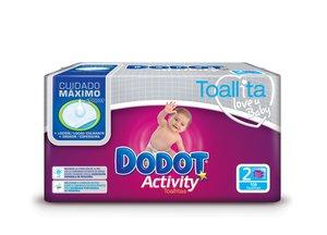 Dodot Toallitas Activity Duopack (108) marca DODOT en BebeHogar.com