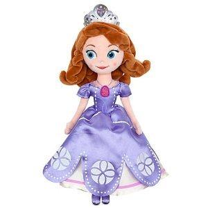 "Disney Sofia Plush - 13"" : Sofia The First: Once Upon A Princess front-104356"