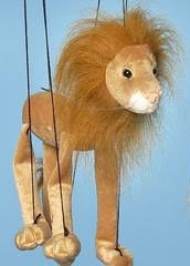 "16"" Lion Marionette Small from Sunny & Co Toys"