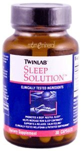 Sleep Solution, 30 Capsules by Twinlab
