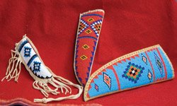 Beaded Knife Sheaths Small