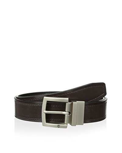 Timberland Men's Cut Edge Reversible Belt