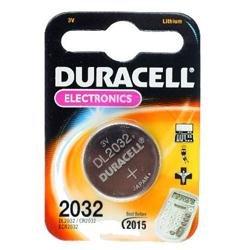 Duracell-pile bouton au lithium cR2032 dL2032 3,0Volt