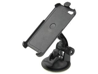 In Car Mobile Phone Holder (Universal Suction, Flexible Neck Mount)