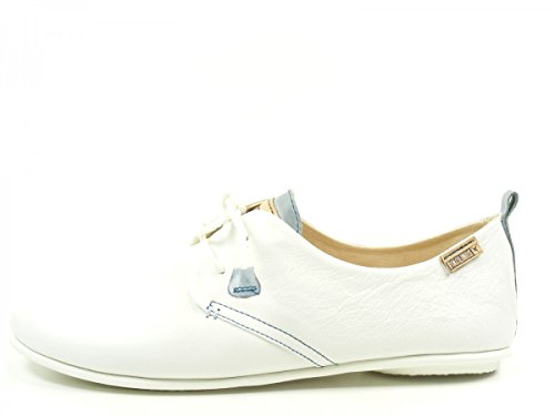 Pikolinos 917-7123C1 Calabria Womens Lace-Up Flats, schuhgröße_1:42 EU;Farbe:blanc