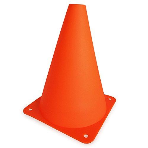 Set of 12 Multipurpose 7 Sport Training Cones in Bright Orange сандалии teva original universal sport bright white