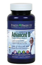 Purity Products Dr. Cannell's Advanced Vitamin D 60 Capsules