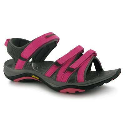 Karrimor Strappy Ladies Walking Sandals Carmine/Rose