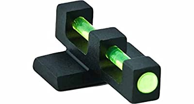 Ultimate Arms Gear FNS9 FNS-9 9mm Green Fiber Fiberrod Rod Optic Pistol Handgun Front Sight .115in. Wide x .290in. Height from Ultimate Arms Gear