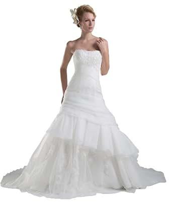 Herafa Wedding Dress Elegant NOw35213 At Amazon Womens Clothing Store