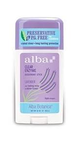 Alba Botanica Lavender Deodorant Stick, 2.5 oz