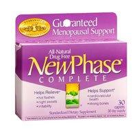 NEWPHASE complète ménopause soutien Caps, 30 ct