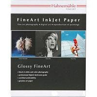 "Hahnemuhle Satin Photo Rag, 310 gsm, 100 % Rag, Fine Lustre Bright White Inkjet Paper, 13x19"", 20 Sheets"