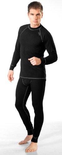 gWinner ® Herren Funktionsunterwäsche SET - Langarm Shirt + Lange Unterhose SILVERPLUS® CLASSIC - DRY Line