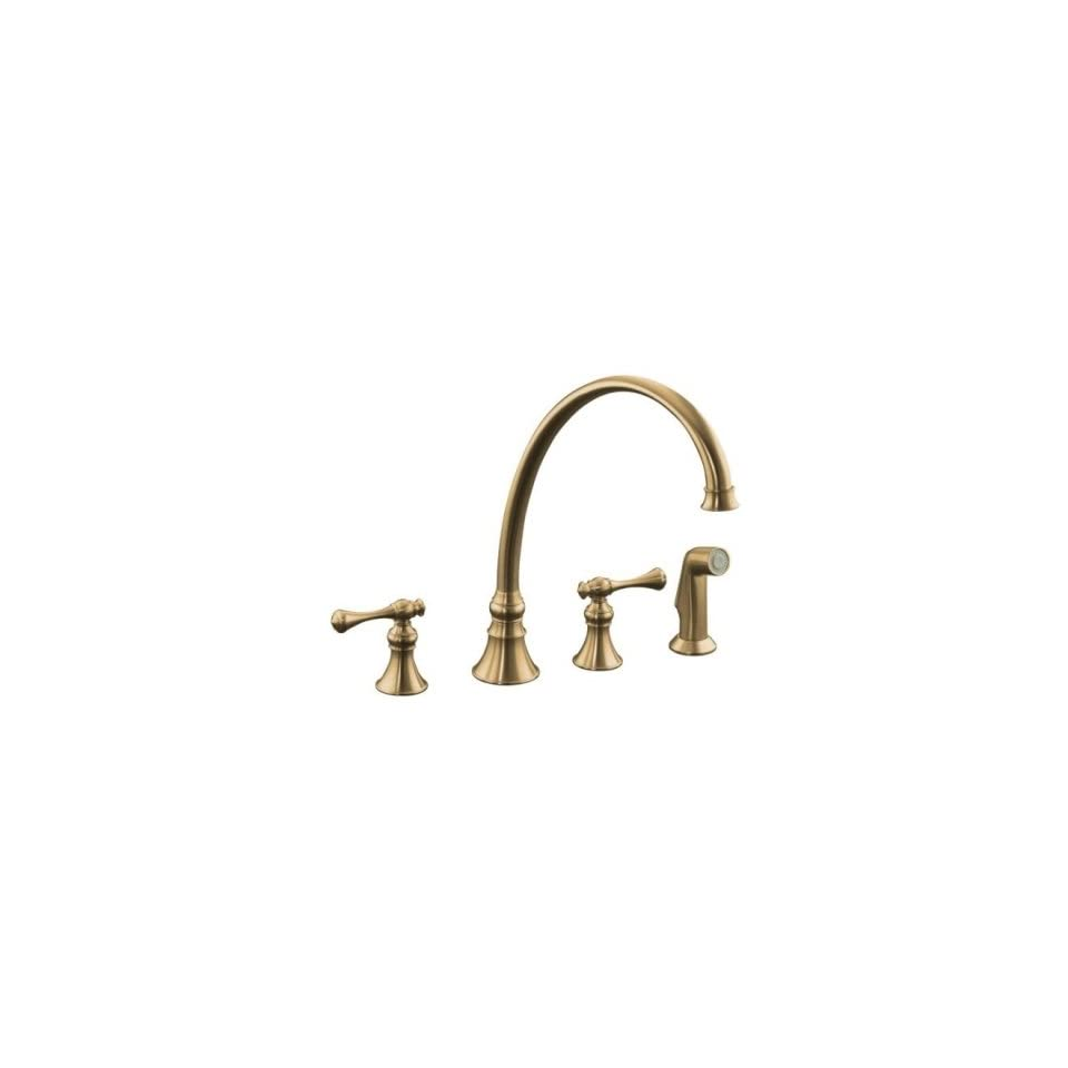 Kohler K 16111 4A BV Kitchen Faucets   Two Handle Faucets